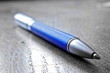 blauwe-pen-var-verklaring-modelovereenkomst-opstellen